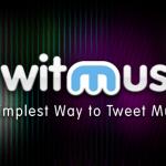 iTunesのApp StoreにTwitMusicのバナーが掲載されています