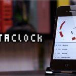 シンプルなデザインのアナログ時計 iPhoneアプリ「MetaClock」をリリースいたしました