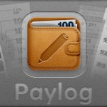 支払いのメモをサクサク記録できる「かんたん支払い記録 Paylog」のアイコンを描きました