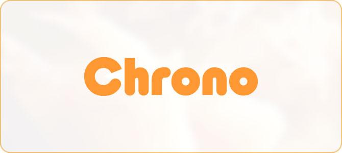 飲食店検索アプリ:Chrono(クロノ)ロゴタイプデザイン