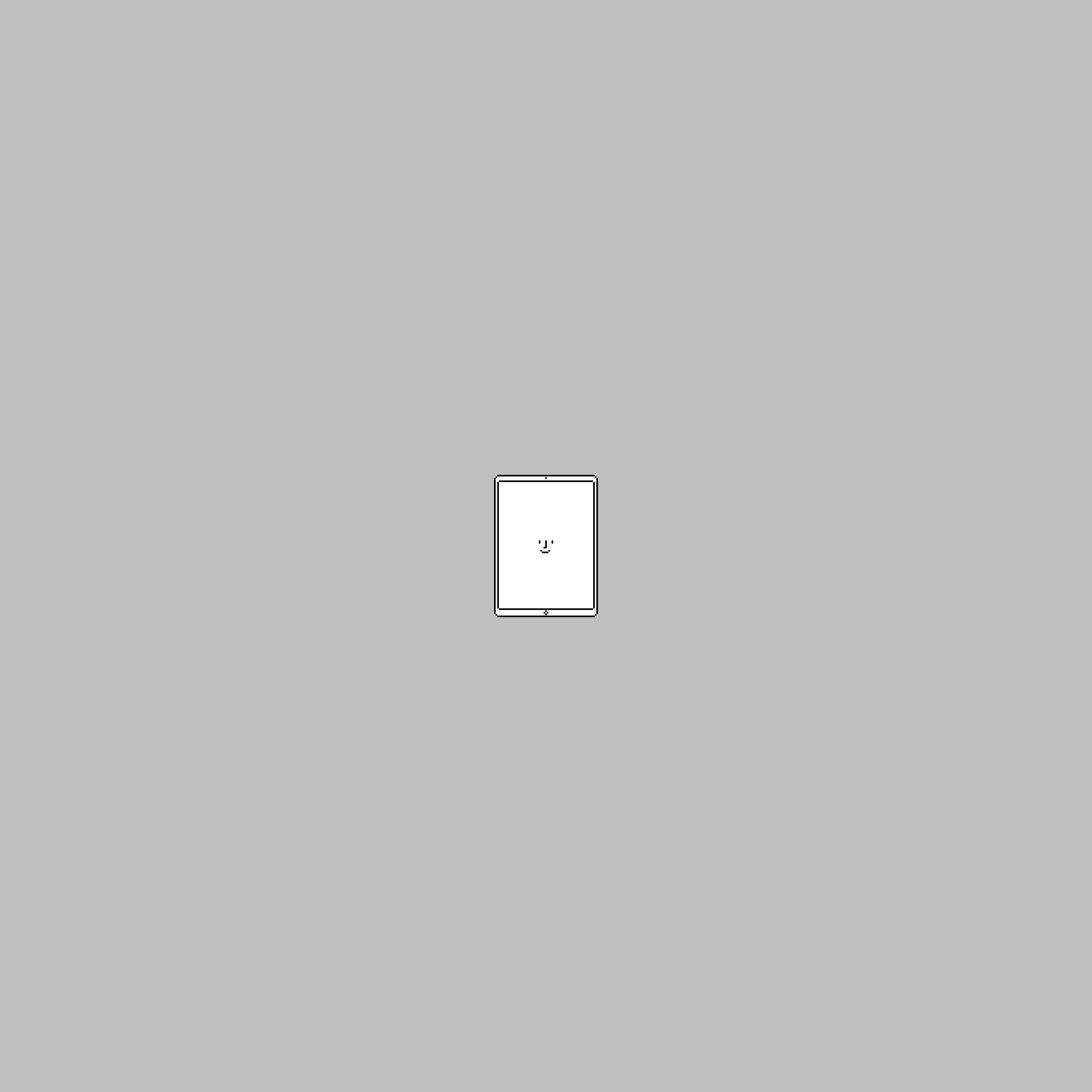 iPad Pro Portraitロック画面用壁紙