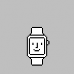 Apple Watch用のHappyな壁紙「Happy Watch」