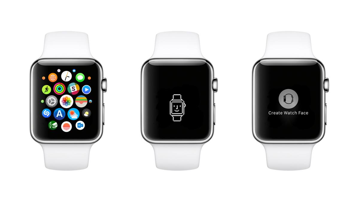 Apple Watch文字盤への壁紙設定方法