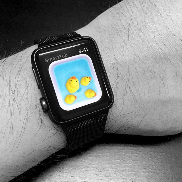 SmartTubアプリApple Watch対応