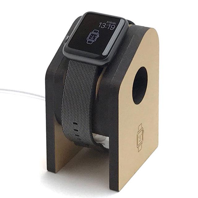 Apple Watch充電スタンドをレーザーカッターで自作