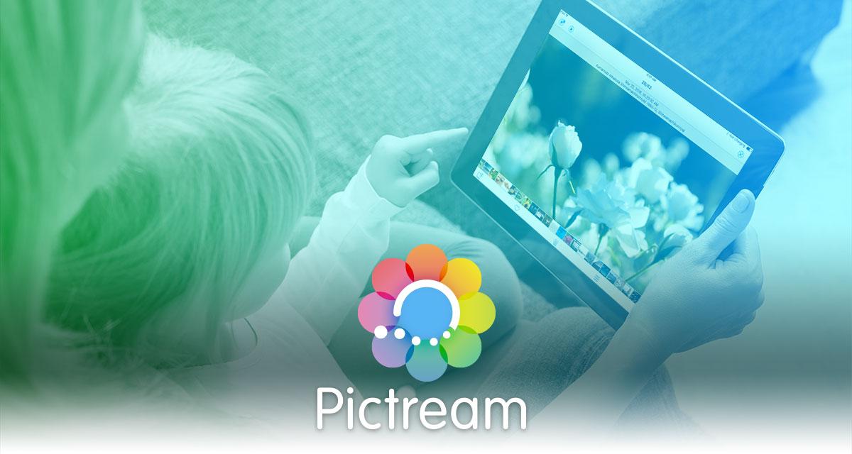 写真ブラウザアプリPictream