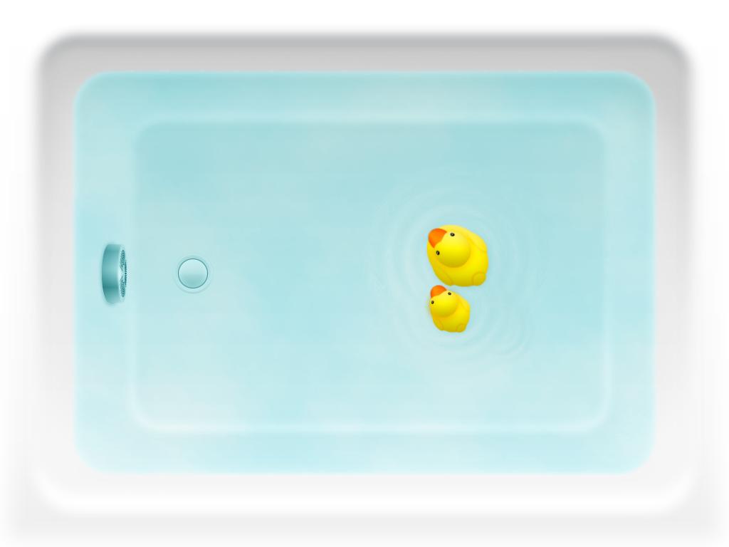 iOSアプリSmartTub開発のきっかけとなったイラスト