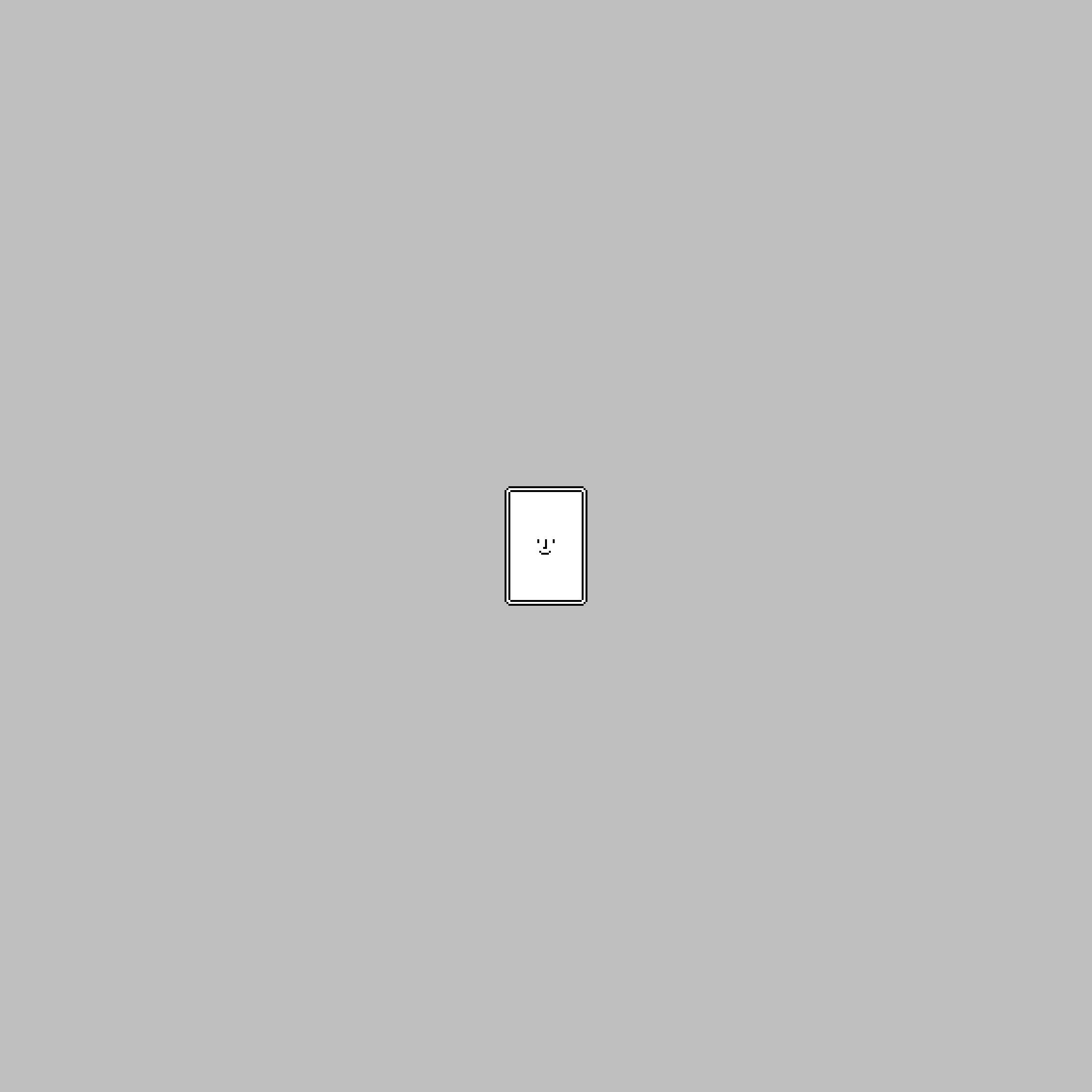 Happyな壁紙「Happy iPad mini 6th Portrait」